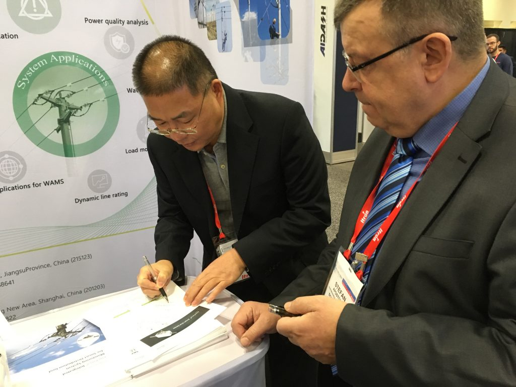 DTECH2020 ThingsLog colaborating with Chinese in grid monitoring