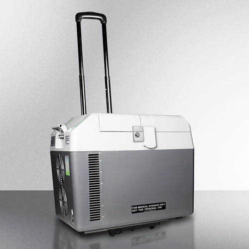 Portable vacine refrigerator