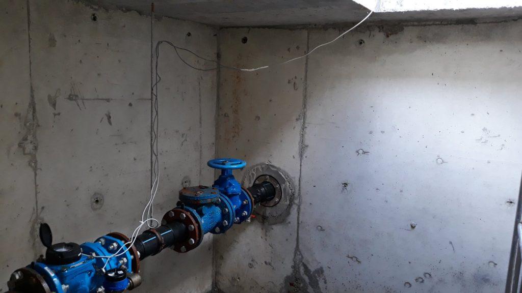 Combined water meter